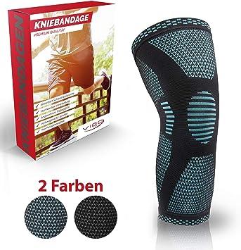 Sport Knieschützer Kniebandage Knieschoner für Fußball Basketball Handball 3 Gr.