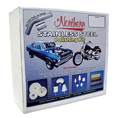 Northern Radiator Z12455 Stainless Steel Polishing Kit: Automotive
