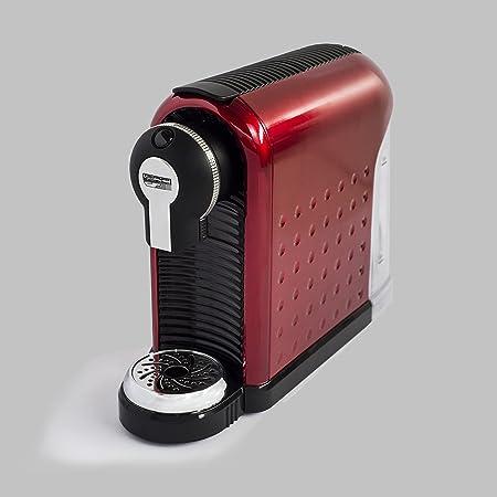 Máquina de café de monodosis de papel Ese 44 mm Espulsione cialda automática rojo: Amazon.es: Hogar