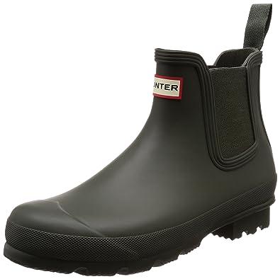 Hunter Bottes de Pluie homme  Amazon.fr  Chaussures et Sacs c11bdda587d0