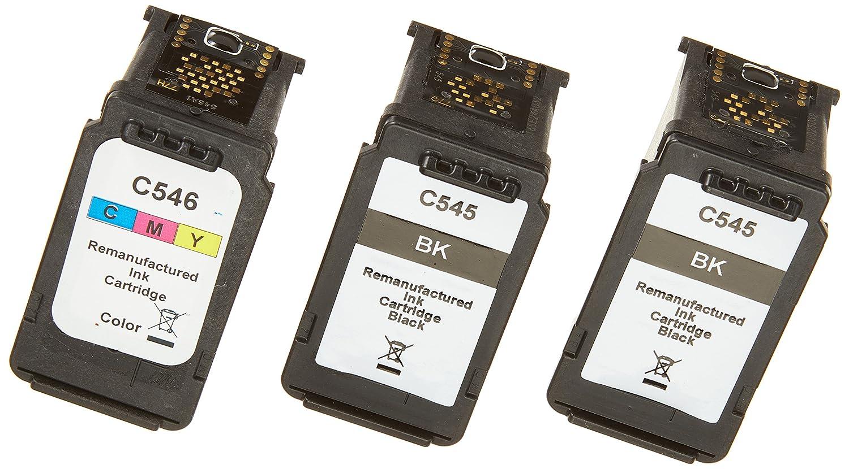 Peach Pack de cartuchos de tinta compatible con Canon PG-545 ...