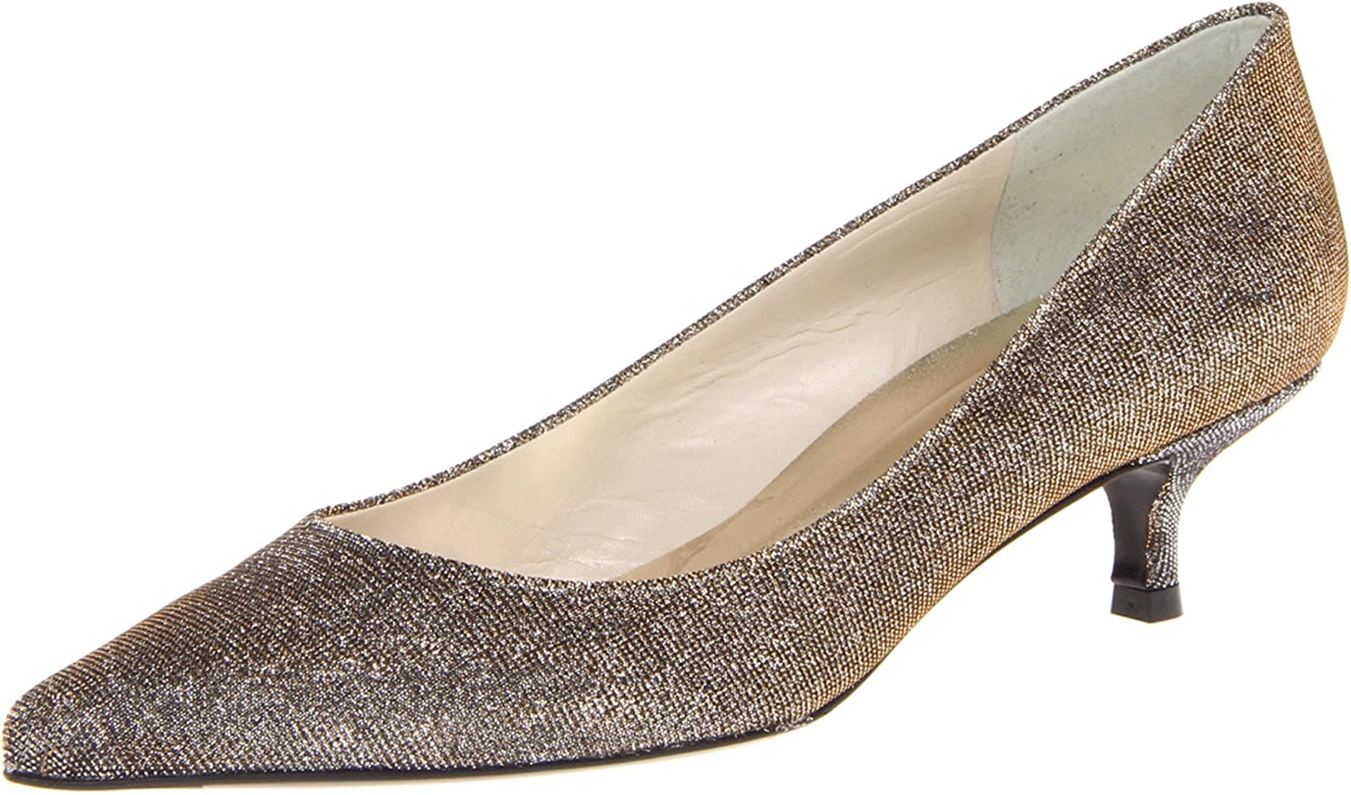 Stuart Weitzman Women's Poco Dress Pump B00BIQOETI 4.5 B(M) US|Pyrite Nocturn