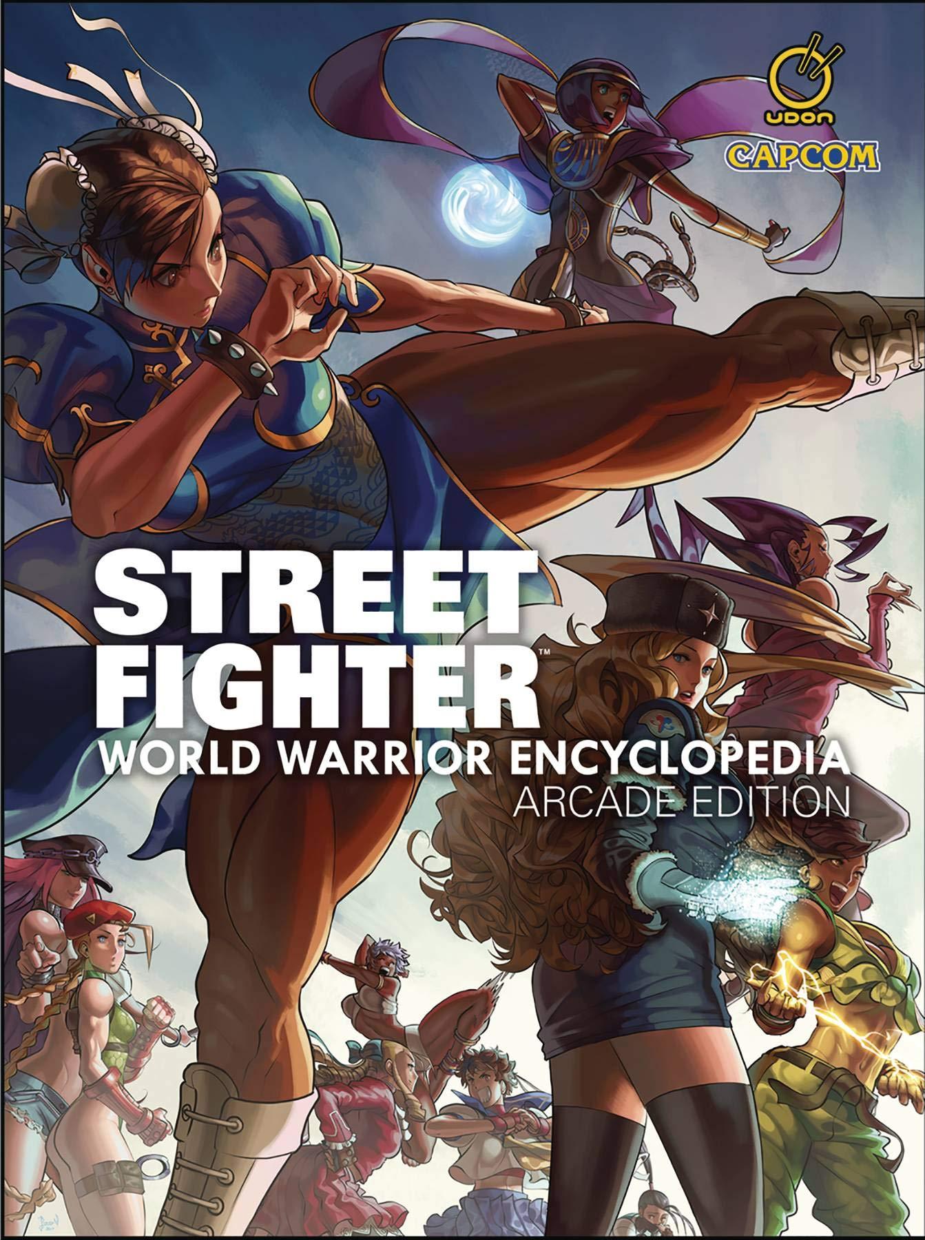 Street Fighter World Warrior Encyclopedia - Arcade Edition HC ...