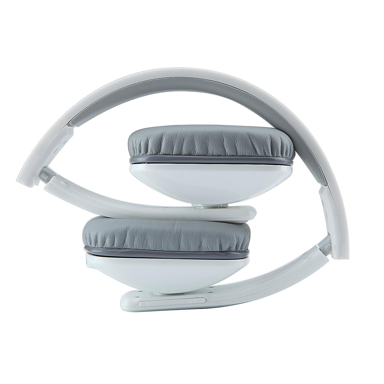 Whitelabel BassOne plegable auricular bluetooth / auricular inalámbrico / auricular Bluetooth, llamados libres de manos, 3,5 mm puerto de audio,compatible ...