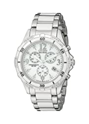 Citizen FB1230-50A Stainless Steel Diamond-Accented Eco-Drive Watch - Christmas Gift Ideas For Wife