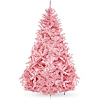 Best Choice Products Premium Hinged Artificial Christmas Pine Tree Holiday Decoration