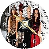 Little Mix Novelty Cd Clock + Free Desktop Stand