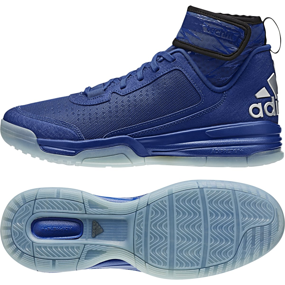 save off 851f2 d3049 Galleon - Adidas Mens Dual Threat BB Basketball Shoes RoyalBlackWhite (10)