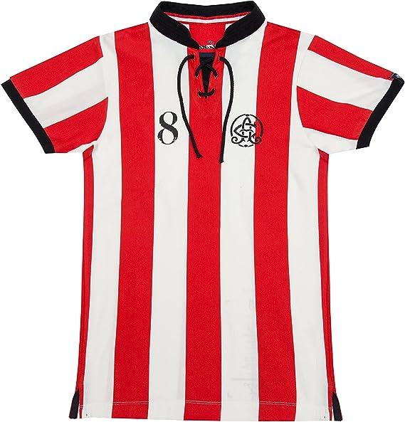 Coolligan - Camiseta de Fútbol Retro 1898 Leones - Color - Rojo - Talla - 3XL: Amazon.es: Ropa y accesorios