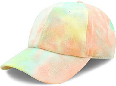 Amazon.com: The Hat Depot Kids Washed Low Profile Cotton & Denim & Tie Dye  Plain Baseball Cap Hat: Clothing