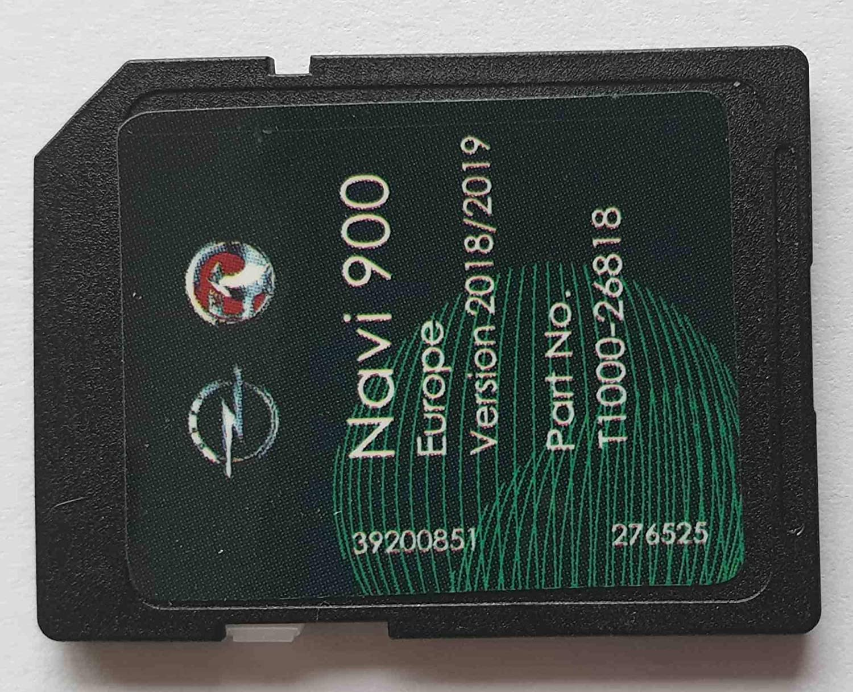 SD Karte GPS Opel NAVI600 NAVI900 Europe 2018/2019 - T1000-26818 here