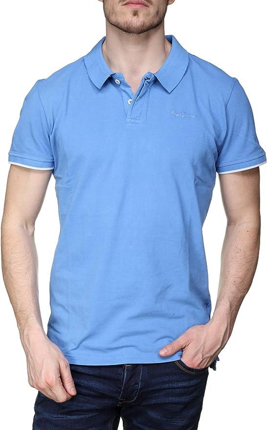 PEPE JEANS HOME P - Polo Hombre Color: Azul Talla: XL: Amazon.es ...