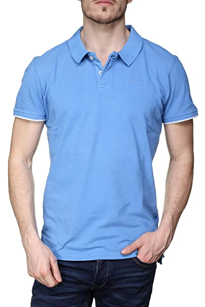 PEPE JEANS HOME P - Polo Hombre Color: Azul Talla: M: Amazon.es ...