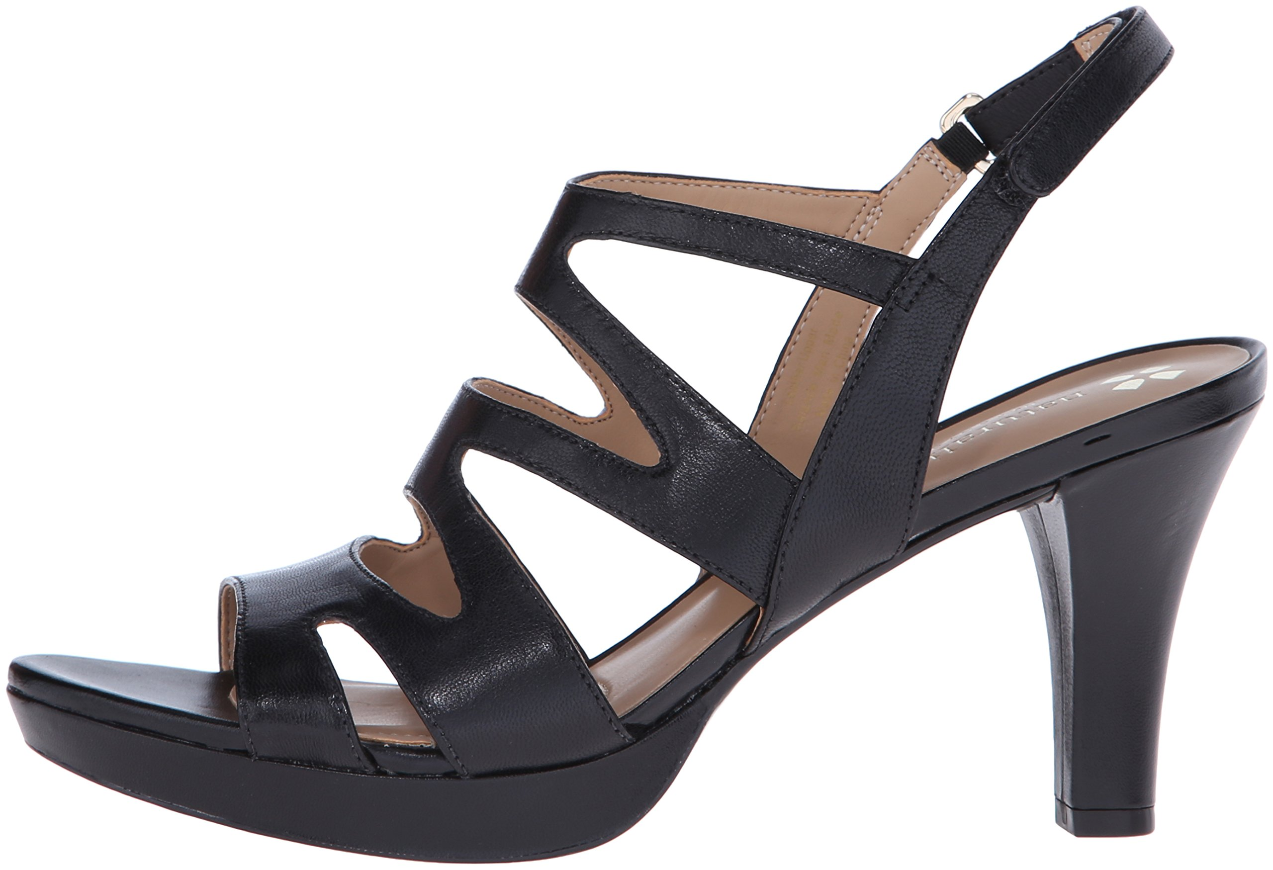 Naturalizer Women's Pressley Platform Dress Sandal, Black, 7 W US by Naturalizer (Image #5)