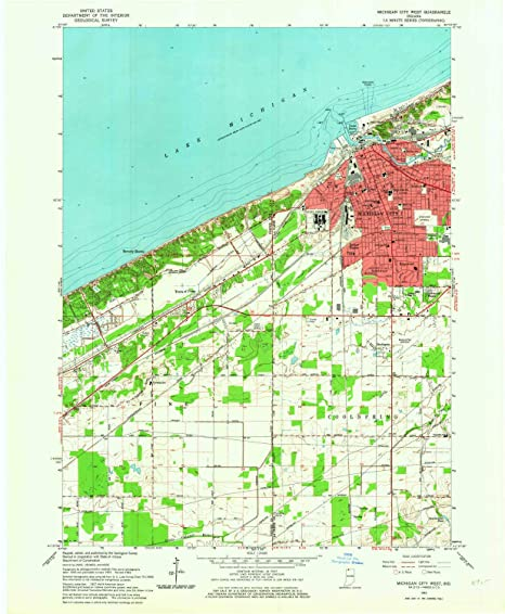 Amazon.com : YellowMaps Michigan City West in topo map, 1 ... on trail creek indiana map, weather lansing michigan map, mongo indiana map, usa map, south bend indiana map, hammond indiana map, michigan city apartments, michigan city area map, burlington indiana map, wawasee indiana map, wisconsin indiana map, tell city map, michigan city lighthouse, saturn indiana map, waynetown indiana map, michigan border map, united states indiana map, gardner indiana map, michigan city in map, bethel college indiana map,