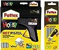 Pattex Hot Pistol Starter Set-Hobby, 1425723 + Pattex 1425722 Hot Sticks Hobby 200 g