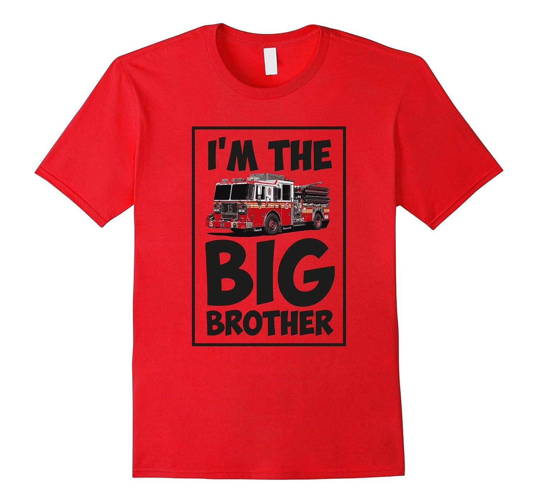 BOYS T-SHIRT: I'M THE BIG BROTHER Fireman tee-TH