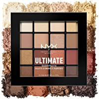 NYX Professional Makeup 专业化妆终极眼影盘 0.46 盎司 /13.04g, 16色 ~最火 色号: USP 03 Warm Neutrals