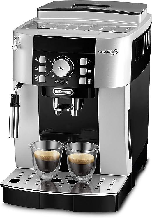 DeLonghi ECAM 21.116.SB Cafetera automática, granos de café, café ...