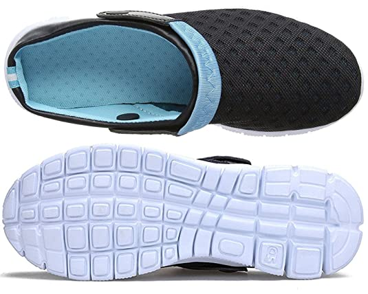 Amazon.com | Eagsouni Mens Womens Garden Clogs Mesh Slippers Sandals Breathable Summer Beach Shoes Lightweight Quick Drying Outdoor Walking Slippers ...