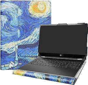 "Alapmk Protective Case for 15.6"" HP Pavilion x360 15 15-dqXXXX (15-DQ0077NR)/HP OMEN Gaming 15-ekXXXX 15-enXXXX (15-ek0023dx) Laptop[Not fit Pavilion X360 15-crXXXX 15-brXXX 15-bkXXX],Starry Night"