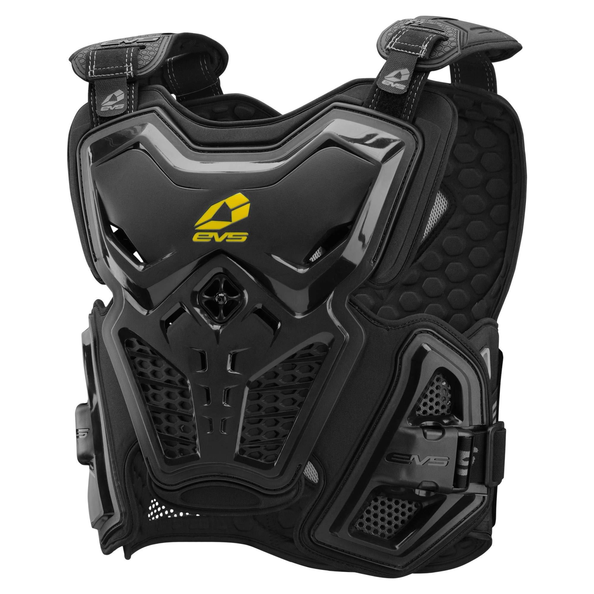 EVS Sports Men's F2 Roost Deflector (Black, Medium)