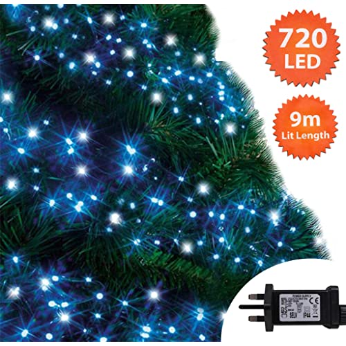 Blue And White Outdoor Christmas Lights Amazon Co Uk