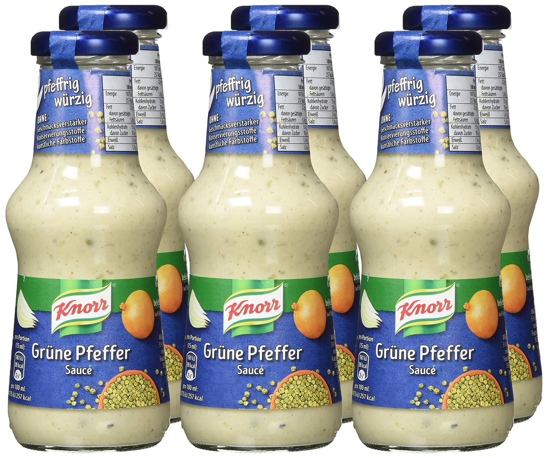 knorr grüner pfeffer sauce