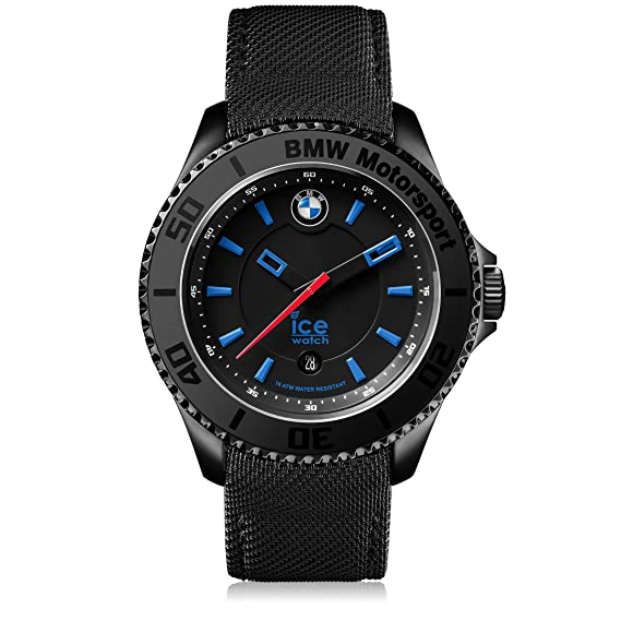 Ice,Watch , Bmw Motorsport (Steel) Black , Orologio Nero Da Uomo Con  Cinturino In Pelle , 001111 (Medium) Amazon.it Orologi
