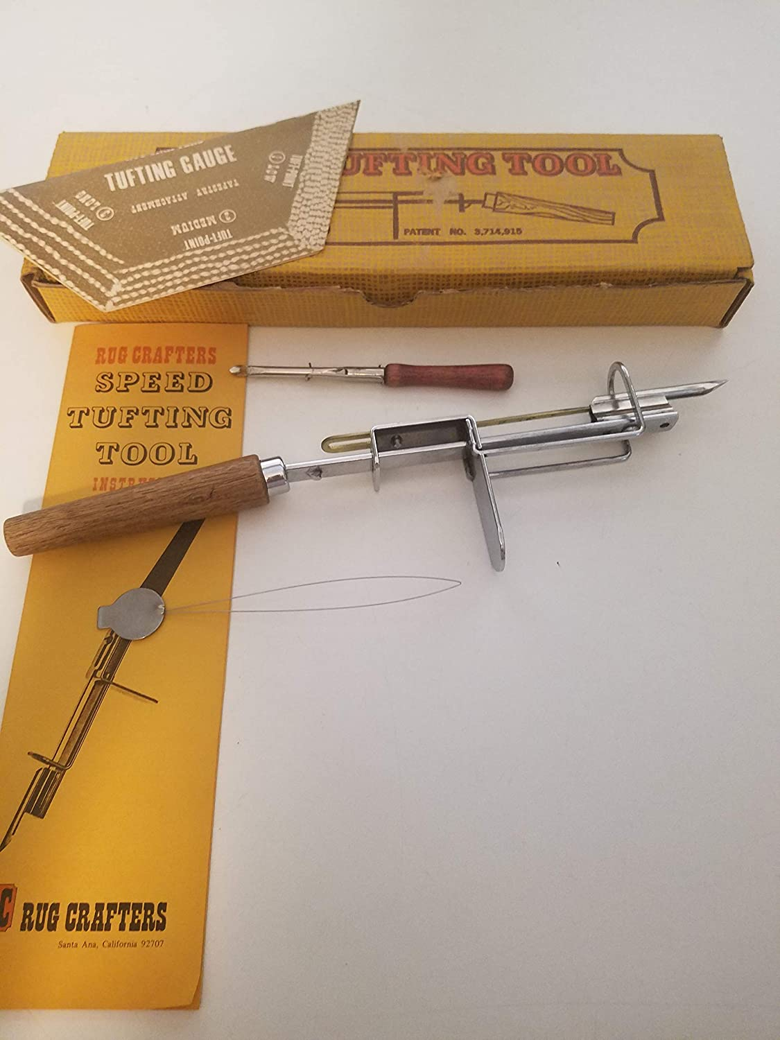 Rug Crafters Speed Tufting Tool Set (see condition description)