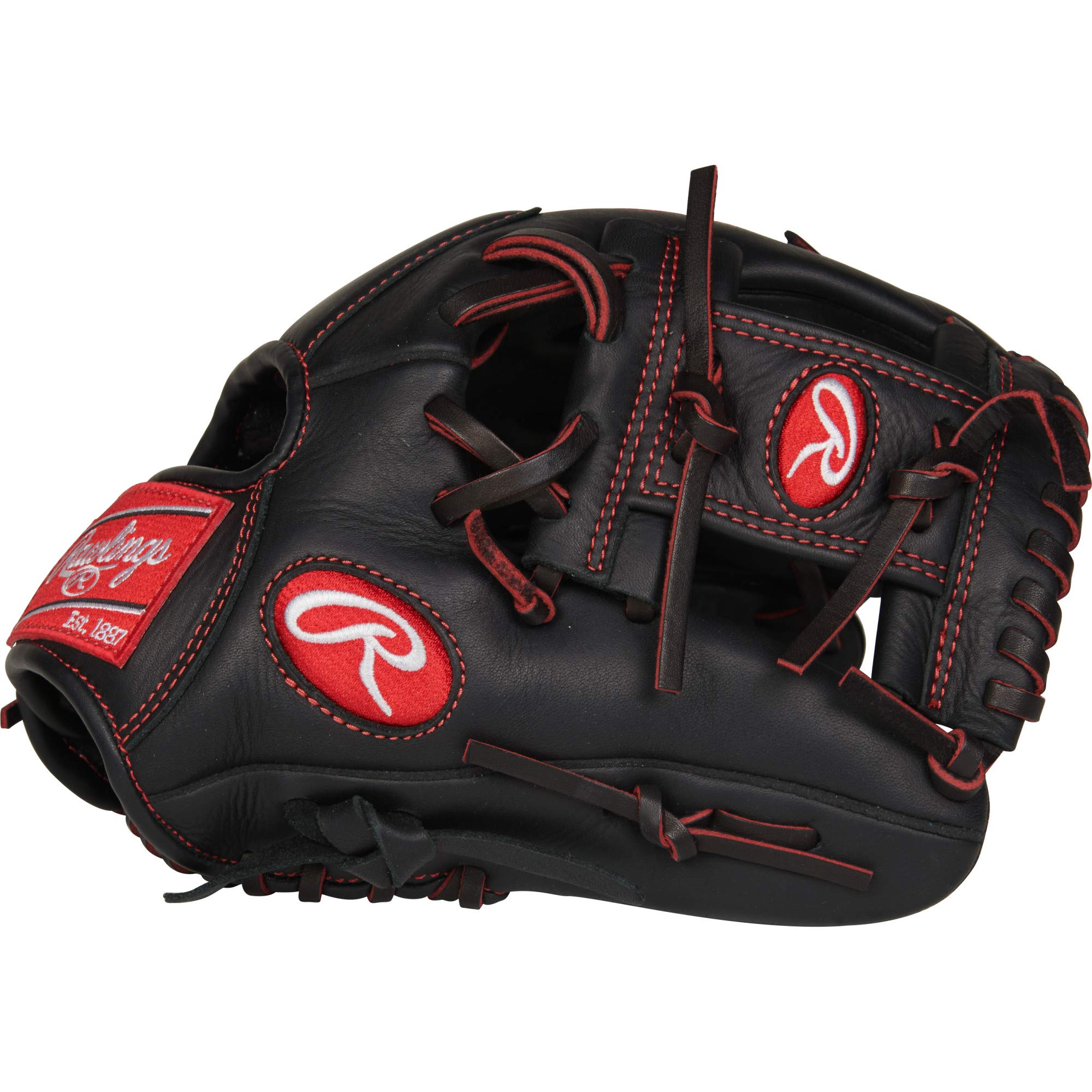 Rawlings R9 Baseball Youth Pro Taper 11 1/4'' Inf R9YPT2-2B-3/0 Gloves , Right Hand Throw by Rawlings