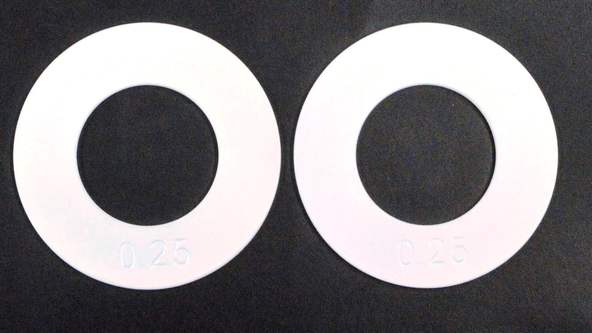"""Quest 2"""" Olympic Fractional Plates - Set of Two 0.25 Lb Plates"""