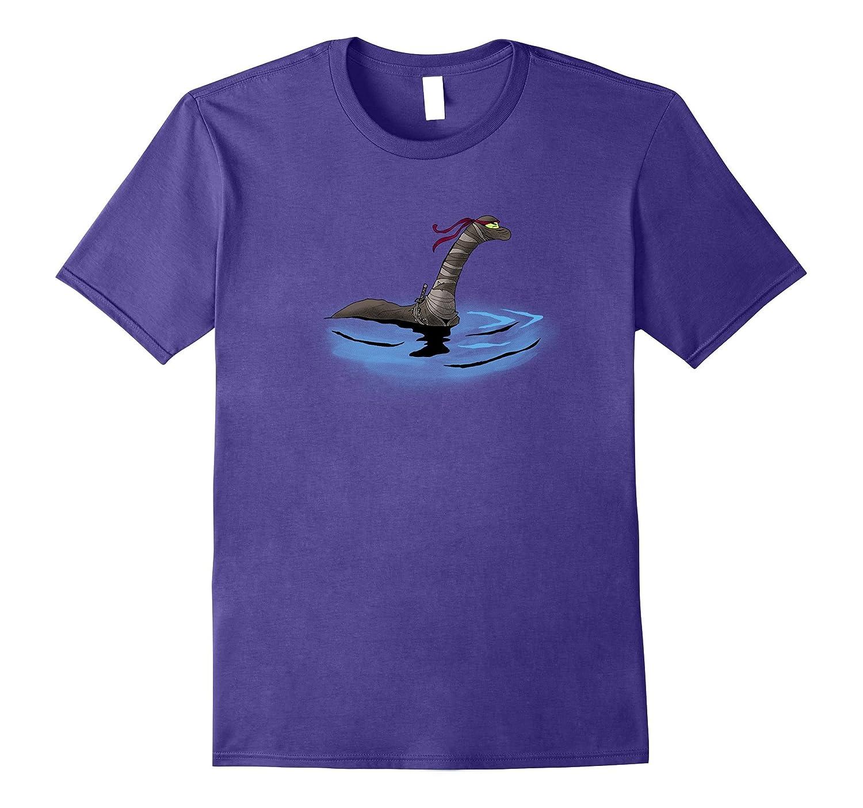 Loch Ness Ninja  Nessie  Funny Geeky Shirt