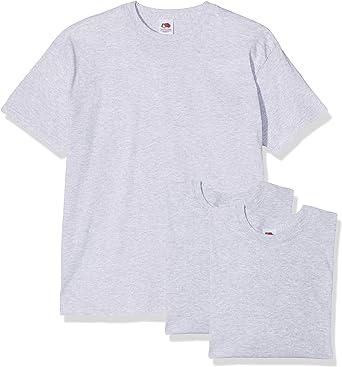 Fruit of the Loom Original T. Camiseta (Pack de 3) para Hombre ...