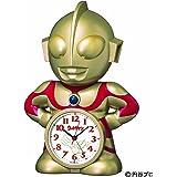 SEIKO CLOCK (セイコークロック) 「限定:円谷プロ50周年記念」ウルトラマン立体おしゃべり目覚まし時計 JF376A
