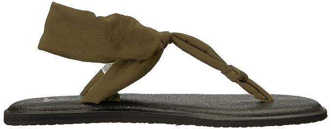 Sanuk Damen YOGASLINGELLA Flipflop: : Schuhe