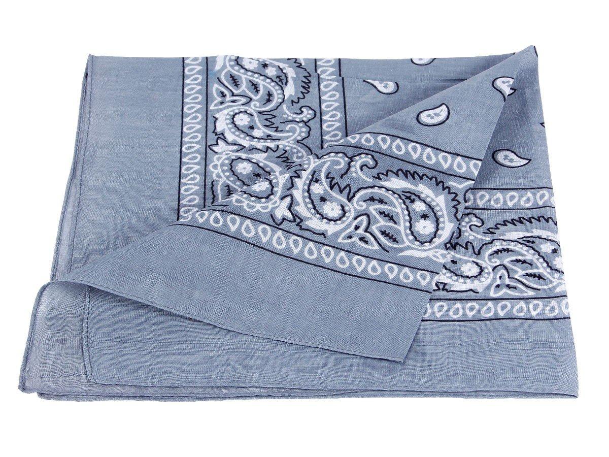 environ 54 x 54 cm Paisley foulard accessoire v/êtement Bandana 100/% coton