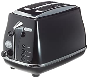 DeLonghi DECTO2003 Icona Toaster 220-240 Volt/ 50-60 Hz (INTERNATIONAL VOLTAGE & PLUG) FOR OVERSEAS USE ONLY WILL NOT WORK IN THE US, OUR PRODUCT ARE BRAND NEW, WE DO NOT SELL USED OR REFERBUSHED PRODUCTS.