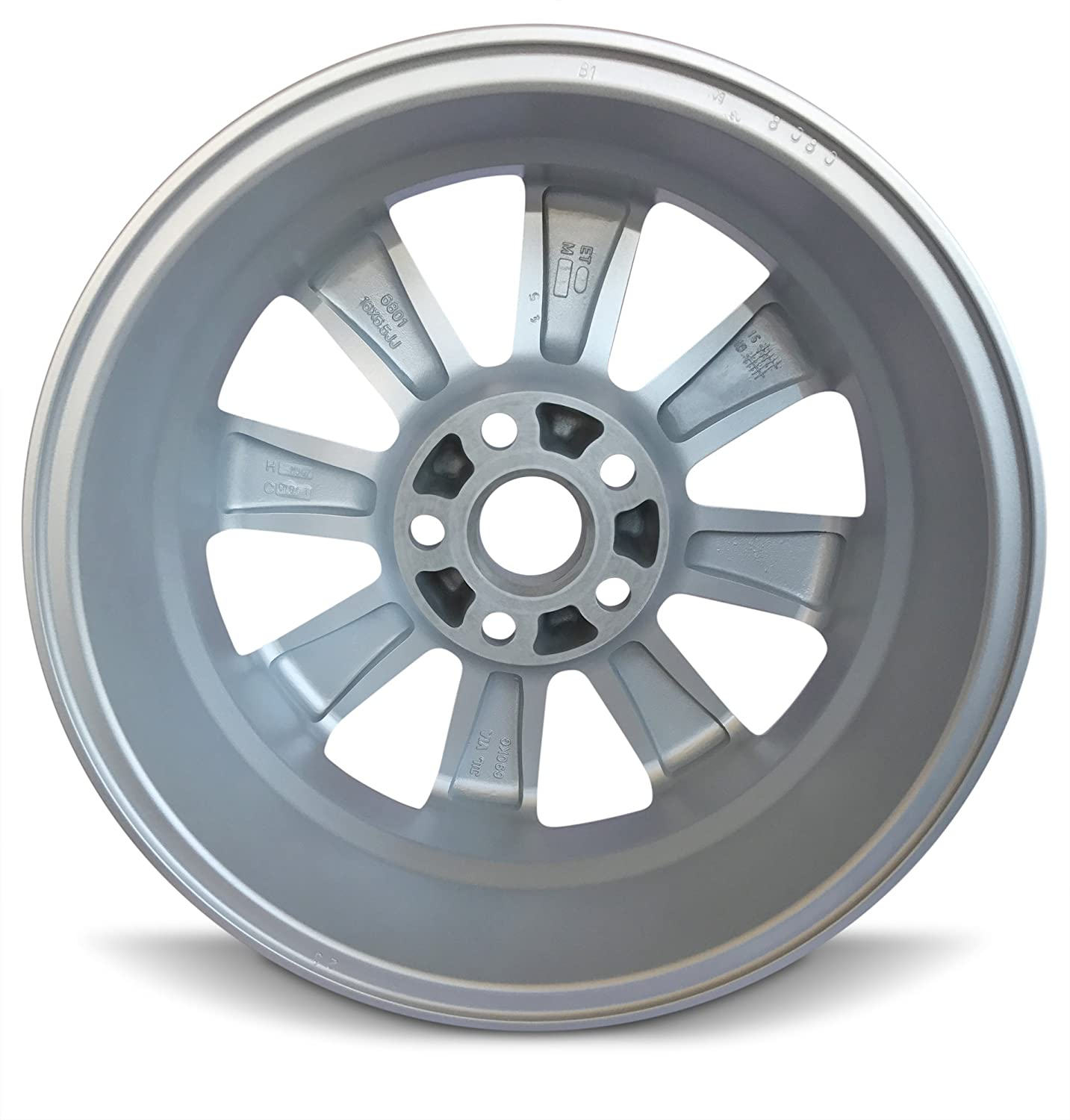 Amazon.com: Toyota Camry 16 Inch 5 Lug 8 Spoke Alloy Rim/16x6.5 ...