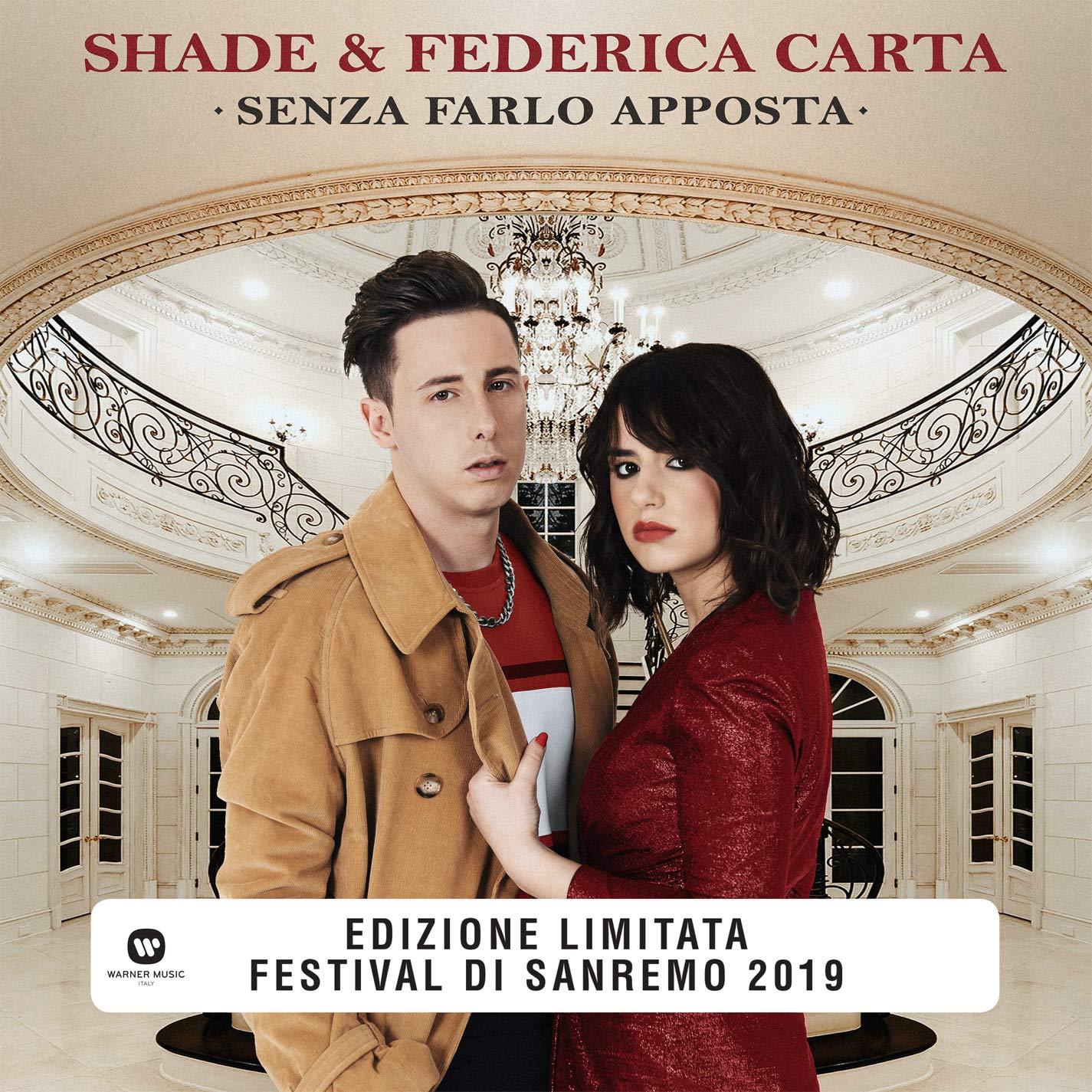 Vinilo : SHADE / CARTA, FEDERICA - Senza Farlo Apposta (Colored Vinyl, Red, Italy - Import)