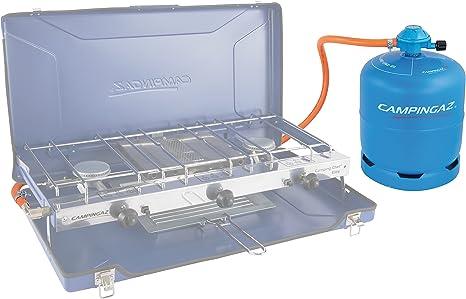 CAMPINGAZ Empty Gas Cilindro, Unisex Adulto, Azul y Naranja ...