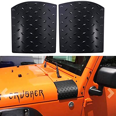 Bentolin Cowl Body Armor Powder Coated Finish Outer Cowling Cover for Jeep Wrangler JK Rubicon Sahara Sport X & Unlimited 2/4 Door 2007-2020: Automotive
