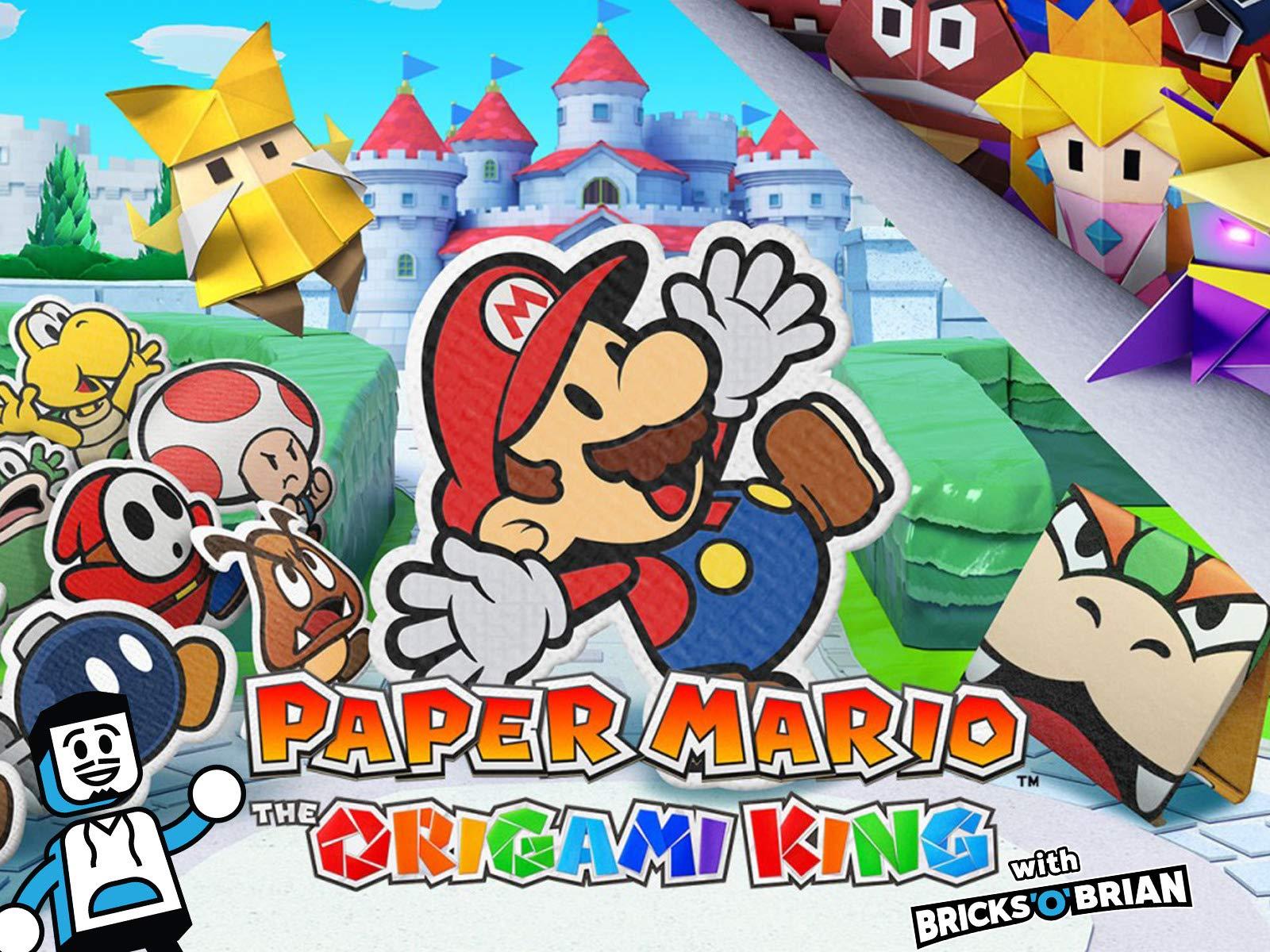 Clip: Paper Mario The Origami King with Bricks 'O' Brian - Season 1