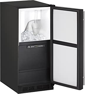 "product image for U-Line UCLR1215INT00B 15"" Undercounter Clear Ice Maker, Integrated"