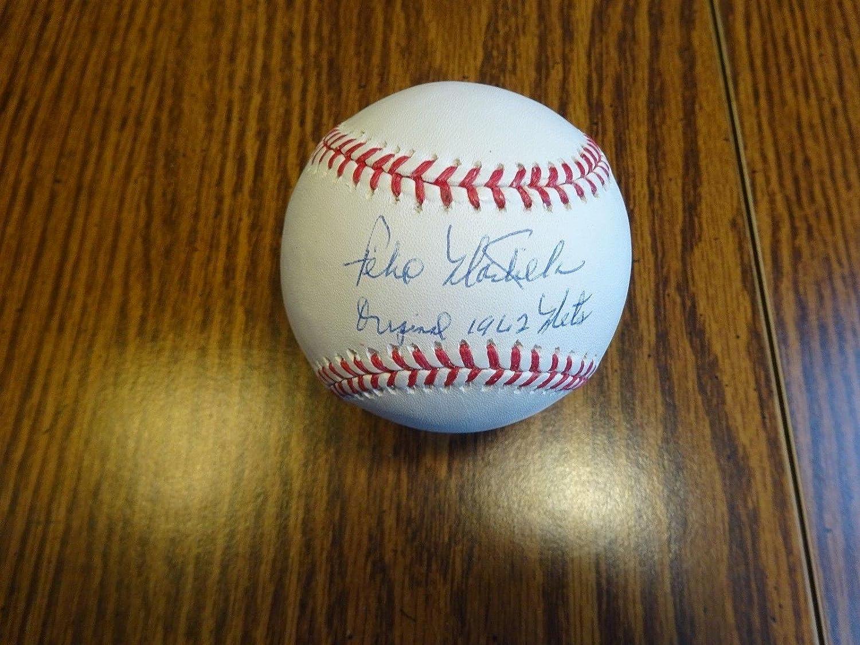 Felix Mantilla Signed Baseball - Original 1962 OML A - Autographed Baseballs