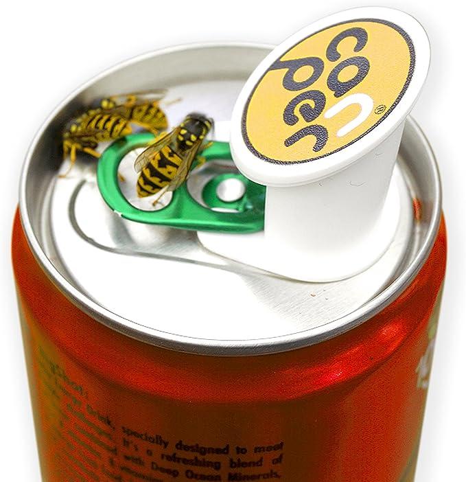 Canper est un bouchon de canette reutilisable pour boire Emoji 4 Pack