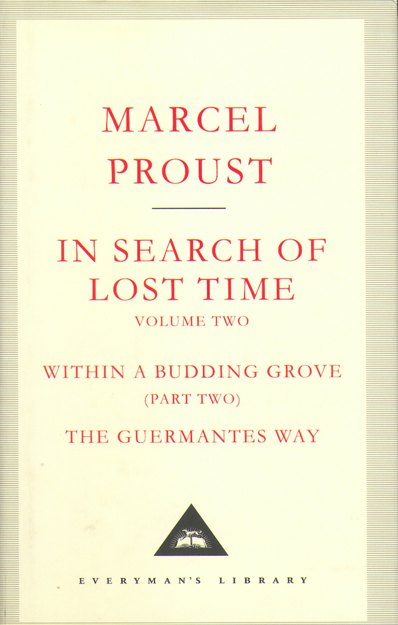 Read Online In Search of Lost Time (Everyman's Library Classics) (v. 2) ebook