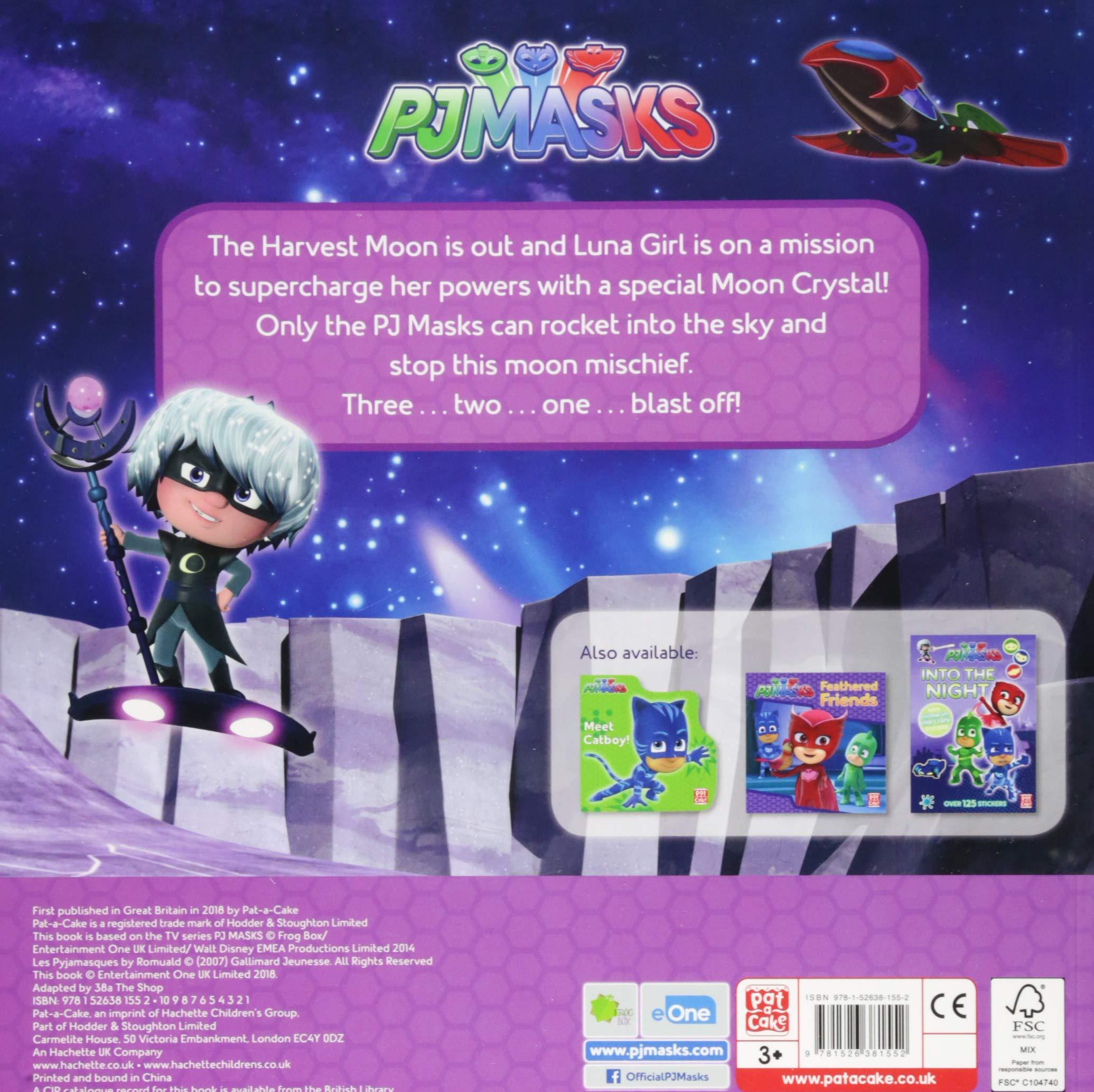 Super Moon Adventure: A PJ Masks picture book : Pat-a-Cake ...