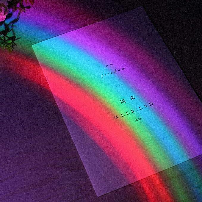 Luz arcoíris, Siebwinn lindo delfín arco iris lámpara de luz de ...