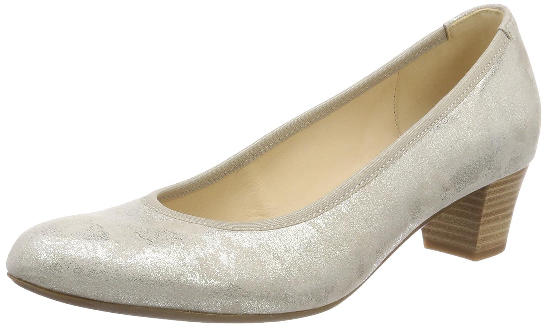 Gabor Shoes Gabor Basic, Zapatos de Tacón para Mujer 43 EU|Marrón (Visone)